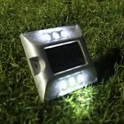 IP68 Solar Powered LED Road Driveway Pathway Stair Deck Dock Light Lamp