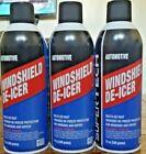 SUPER TECH Windshield De Icer; De-Icer- spray canister, 12 oz (LOT OF 03)