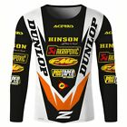 SPTGRVO LairschDan 2019 Men's Summer Bike Motocross Jersey Long Sleeve Cycling