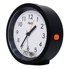 Light Activated Backlight Alarm Clock Temp. Humidity Meter for Home Office