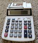 CANON P23-DH II Mini Desktop Printing Calculator 2-Color 12-Digit W/ All Parts