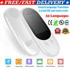 Smart Language Voice Translator Device Translation 52 Languages TouchScreen K6G6