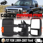 1999-2007 Ford F250/F350/F450/F550 Power Heated Signal LEFT+RIGHT Tow Mirrors