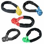 """Set of 1/2"""" UHMWPE Synthetic Soft Rope Shackles 38,000lbs+"""