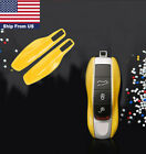 Remote Key Case Cover Shell Holder For Porsche Cayenne Panamera Macan  911