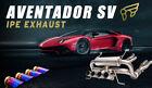 Lamborghini Aventador LP750-4 SV iPE F1 Innotech Exhaust System ( Titanium)