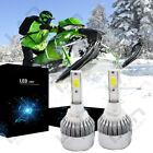 Snowmobile LED 100W 7200LM 6000K Headlight Kit MT - 862 885 893 894 899 880 x2