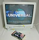 "Vintage Mitsubishi 20"" Color TV w/ built in VCR Combo CV-20126"