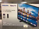 "Philips 32"" Class HD (720P) Smart Roku LED TV (32PFL4664/F7) ~ BRAND NEW!!"