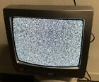 """Toshiba 13A25 13"""" CRT TV Color Television with Remote TV Nice Retro Gaming TV"""