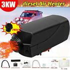 3KW 24V Diesel Air Heater Knob Switch Silencer For Car Truck Boat Trailer Bus US