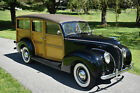 1938 Ford Other RESTORED DELUXE WOODY WAGON 1938 FORD 'WOODY' WAGON; RESTORED, V8, ORIG. WOOD, ARTILLARY WHEELS, (VIDEO)