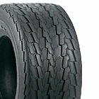 1) 20.5x8.0-10 Deestone D268 Trailer Tire 6ply DS7111
