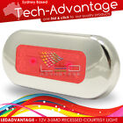 12V 3-SMD-LED RED CABIN COURTESY STAIR/CAR/BOAT/TRUCK/CABIN/ACCENT SATIN LIGHT