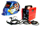 MIG 100 FLUX WIRE WELDER MACHINE + EAGLE AUTO DARKENING HELMET WELDING MASK KIT