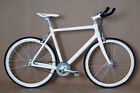 2013 STRADALLI FIXXX CARBON TRACK BIKE FIXIE FIXED GEAR BICYCLE MESSENGER 700 LG
