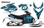 YAMAHA PHAZER RTX GT MTX 07-16 SNOWMOBILE SLED GRAPHICS KIT CREATORX TZBLI