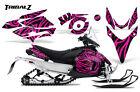 YAMAHA PHAZER RTX GT MTX 07-16 SNOWMOBILE SLED GRAPHICS KIT CREATORX TZP