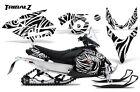 YAMAHA PHAZER RTX GT MTX 07-16 SNOWMOBILE SLED GRAPHICS KIT CREATORX TZW