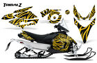 YAMAHA PHAZER RTX GT MTX 07-16 SNOWMOBILE SLED GRAPHICS KIT CREATORX TZY