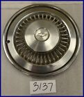 "1977 77 CHEVY CHEVELLE CAPRICE 15"" HUBCAP HUB CAP GOOD USED 361384 3082"