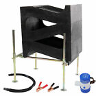 Gold Cube 3 Stack Deluxe Complete Kit for Gold Prospecting Fast Recovery Sluice