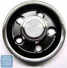 1965-68 Pontiac Rally I Chrome & Black Center Cap - New - Each
