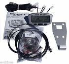 EXRAY Speedometer Kit - Universal (U-Bolt) for Golf Carts with Jakes Disc Brakes