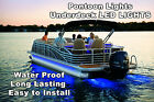 18-20' Pontoon Boat Under Deck Blue LED Light Kit | w/ Harness & Mounting Track