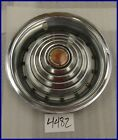 "1969 1970 69 70 PONTIAC GRAND PRIX 14"" HUBCAP HUB CAP GOOD USED 9797019 5017"