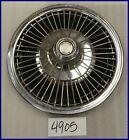 1968 68 AMC JAVELIN AMX RAMBLER WIRE TYPE HUBCAP HUB CAP GOOD USED 3191170