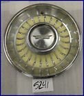 1962 62 CADILLAC CS YELLOW HUBCAP HUB CAP GOOD USED 9700751 C-5