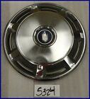 "73 74 75 76 77 CHEVY MONTE CARLO 15"" HUBCAP HUB CAP GOOD USED 327761 3056"