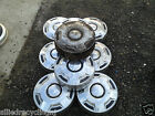 """73-87 Chevy 3/4 1 Ton Dog Dish HUBCAPS 11 3/4"""" Set of 7 Pickup Truck (5639-OS)"""