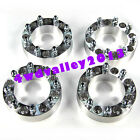 """Set of 4 Wheel Spacer 8X6.5 9/16"""" Studs 2"""" Thick For Chevrolet Express 2500"""