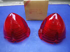 NOS 56 1956 OLDS 88 SUPER 88 TAIL LIGHT LENS LAMP LENSES 50'S FORD HOT ROD NORS