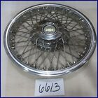"""83 84 85 CHEVY CELEBRITY 14"""" WIRE TYPE HUBCAP HUB CAP GOOD USED14070272 3154"""