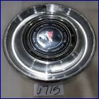 "1975 1976 75 76 PONTIAC FIREBIRD LEMANS 15"" HUBCAP HUB CAP GOOD USED 496972 5041"