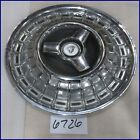 "1966 66 MERCURY 15"" HUBCAP HUB CAP W/ SPINNER GOOD USED C6MY1130B 989"