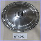 "1983 1984 83 84 FORD LTD 14"" HUBCAP HUB CAP BLACK CREST GOOD USED E3DZ1130C 827"