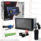 "JVC KW-V50BT CAR 7"" TOUCHSCREEN CD DVD STEREO W/ BLUETOOTH IPHONE IPOD CONTROL"