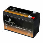 12V 9AH Sealed Lead Acid Battery for Emergency Lighting Equipment and ATV's