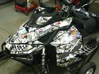 Ski-Doo XP Chassis Snow Camo Decal Kit fits 2008-2013 Carburated and etce Models