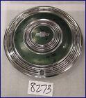 "1970 70 CHEVY MONTE CARLO CAPRICE 15"" GREEN HUBCAP HUB CAP GOOD USED OEM 3041"