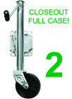 CLOSEOUT! 2 NEW SEASENSE 1000 LB. TRAILER JACKS,BOAT/CARGO/FLATBED,ZINC PLATED