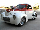 Willys : Coupe Coupe 1941 Willys Coupe Street Rod, 355 Small Block with Weiand 671 Blower, 600+ RWHP