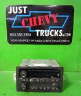 03 05 Chevy GMC Tahoe Yukon Silverado Sierra AM FM Stereo CD Radio UBO