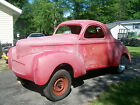 Willys coupe 1940 willys gasser project