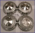 """DODGE MOPAR SCAT PACK MAX WEDGE 10"""" DOG DISH POVERTY HUBCAPS HUB CAPS GOOD USED"""