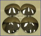 "CHRYSLER 10 1/2"" PLAIN POINTED MOON DOG DISH POVERTY HUBCAPS HUB CAPS NOS SET"